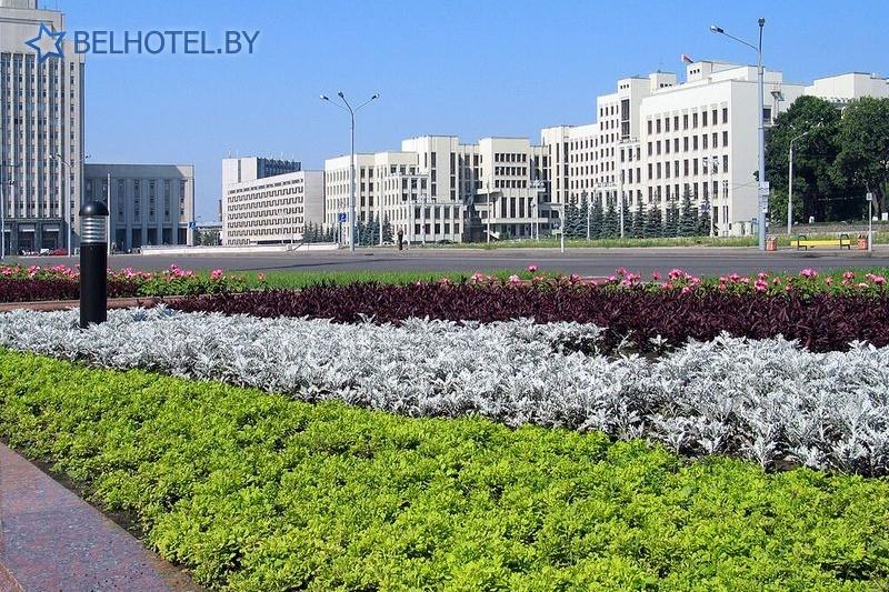 Гостиницы Белоруссии Беларуси - отель Кроун Плаза Минск / Crowne Plaza Minsk - Окрестные пейзажи