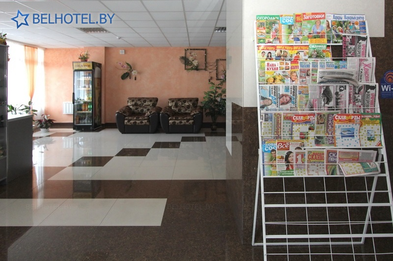 Hotels in Belarus - hotel Mosty - Reception, hall