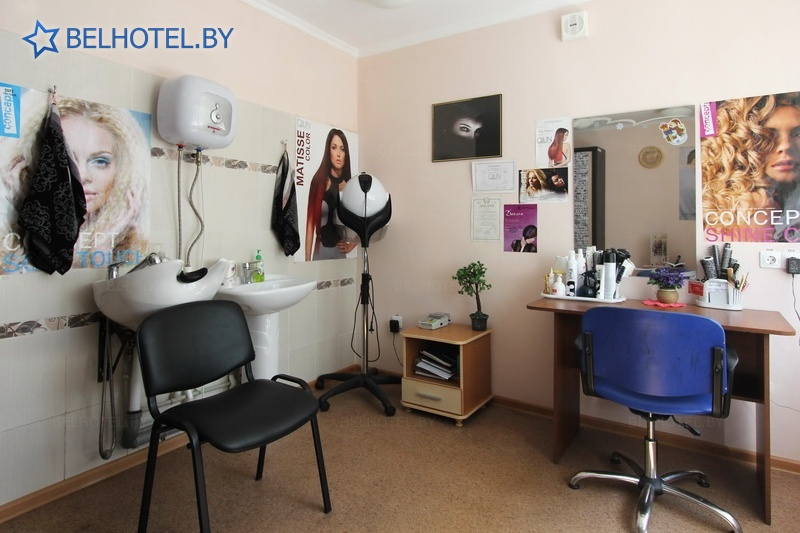 Hotels in Belarus - hotel Mosty - Hairdressing salon