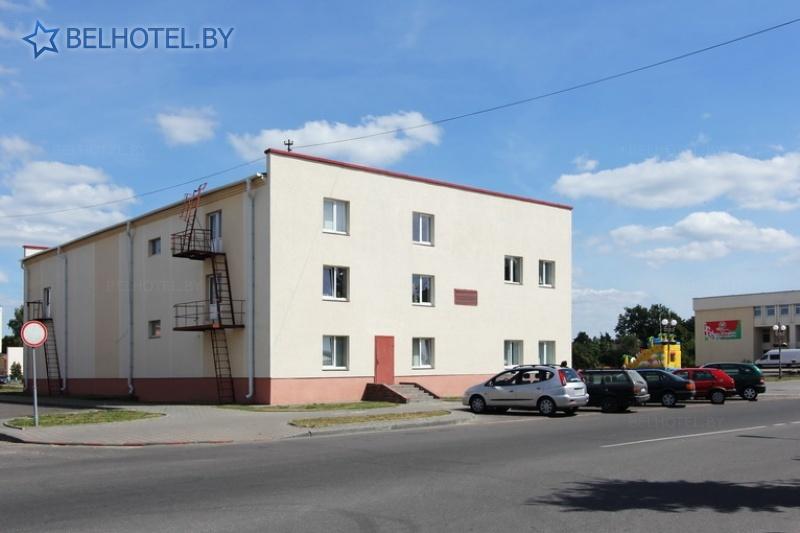 Hotels in Belarus - hotel Mosty - Parking