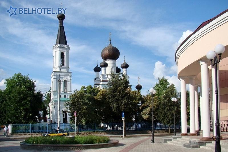 Гостиницы Белоруссии Беларуси - гостиница Могилёвхимволокно - Окрестные пейзажи