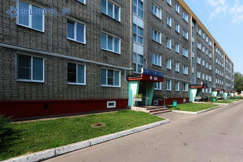 Hotels in Belarus - hotel Mogilevhimvolokno - External appearance