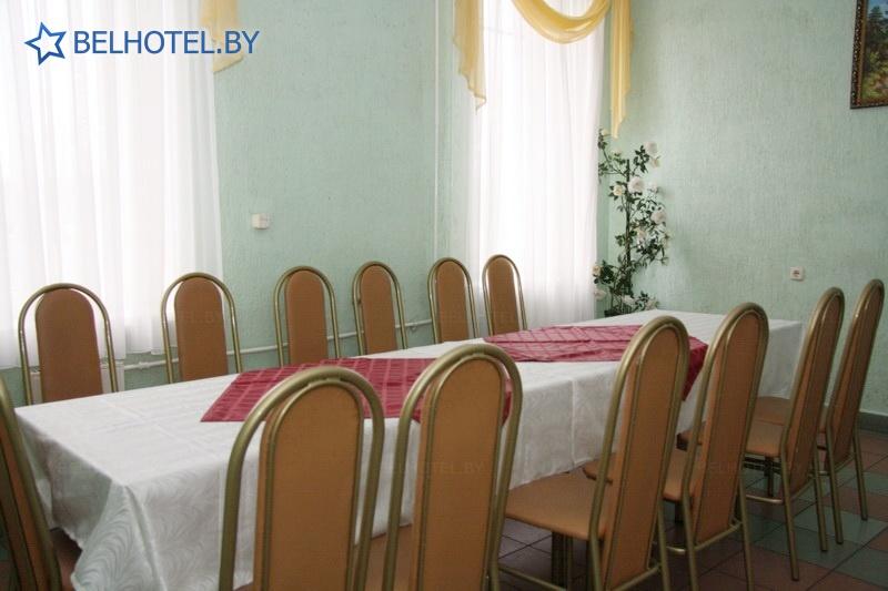 Гостиницы Белоруссии Беларуси - гостиница Берёзка - Банкетный зал