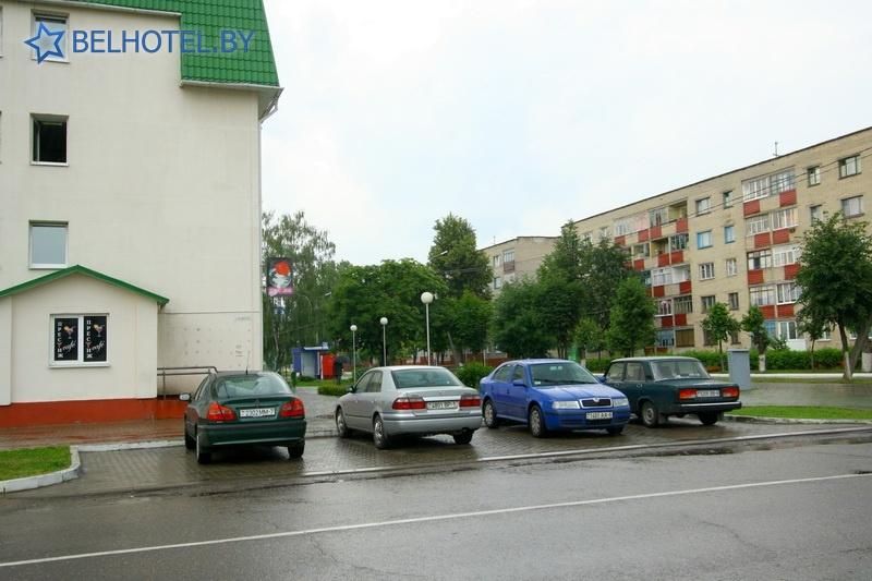 Hotels in Belarus - hotel Osipovichi - Car park