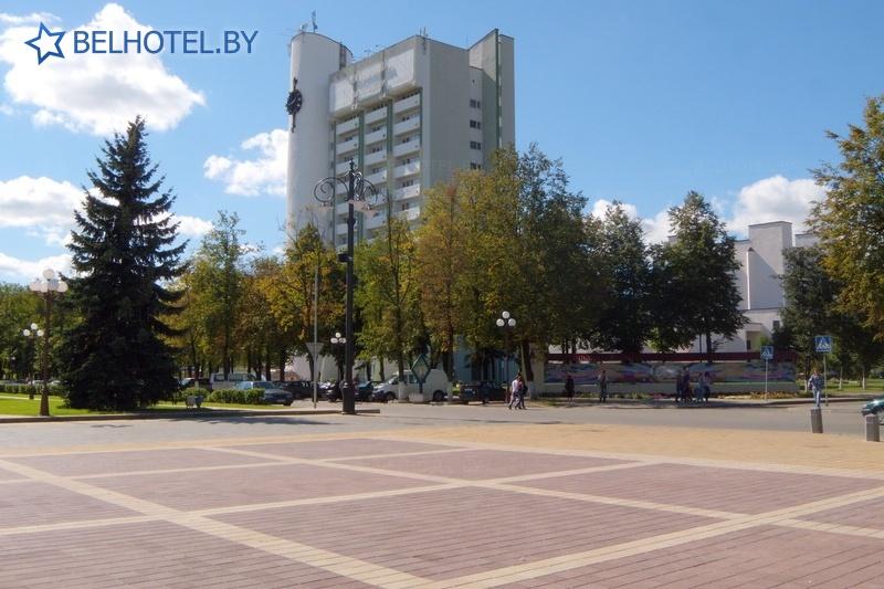 Гостиницы Белоруссии Беларуси - гостиница Молодечно - Внешний вид