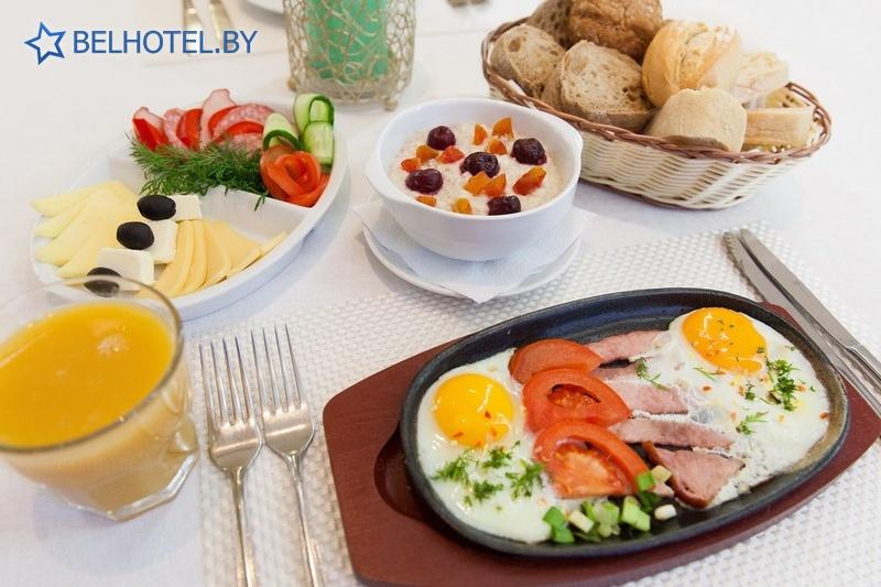 Гостиницы Белоруссии Беларуси - гостиница У фонтана - Ресторан