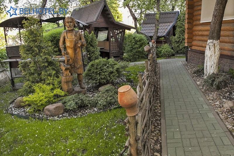 Гостиницы Белоруссии Беларуси - гостиница У фонтана - Внешний вид