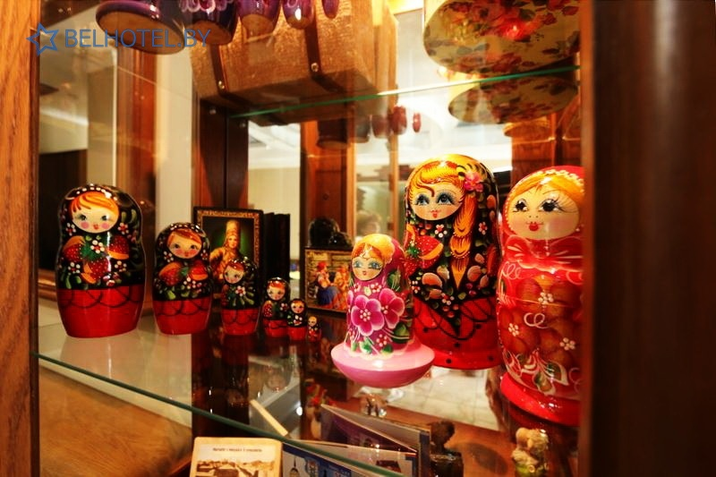 Hotels in Belarus - hotel Gubernskaya Mogilev - Souvenir shop
