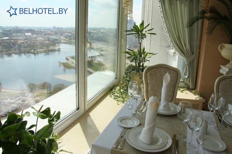 Гостиницы Белоруссии Беларуси - гостиница Беларусь - Ресторан