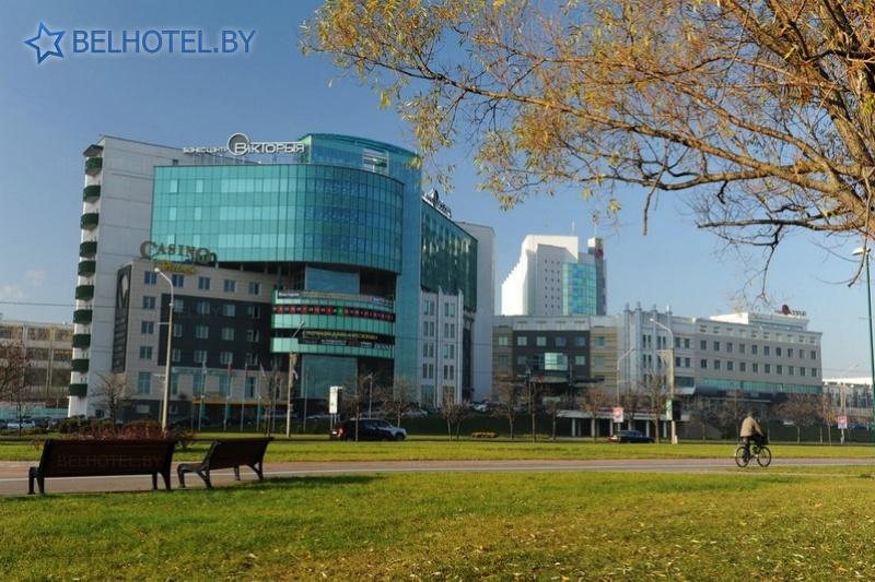 Hotels in Belarus - hotel Victoria - External appearance