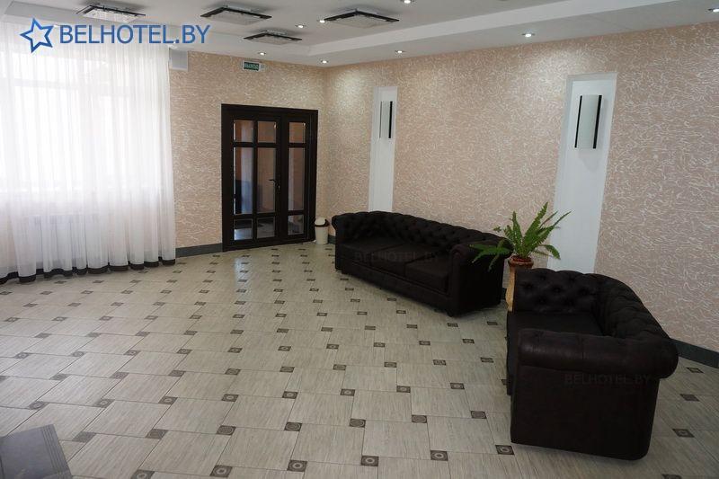 Гостиницы Белоруссии Беларуси - гостиница Копыль - Регистратура, холл