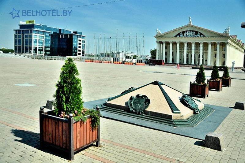 Hotels in Belarus - hotel Juravinka Minsk - Scenery of the locality
