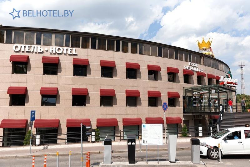Hotels in Belarus - hotel Juravinka Minsk - External appearance