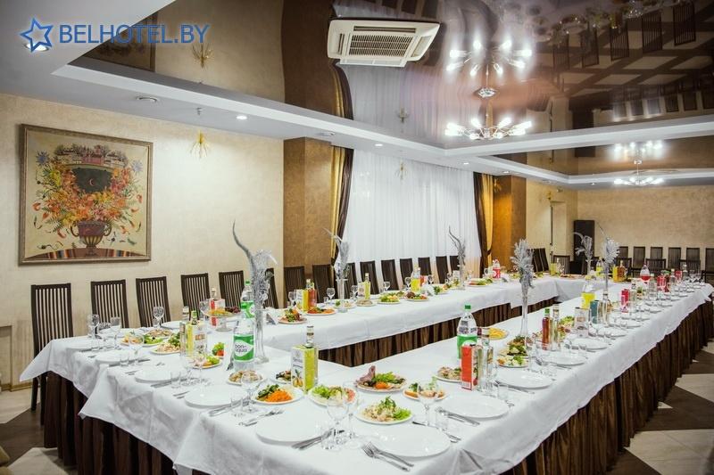 Hotels in Belarus - hotel complex Orbita - Banquet room