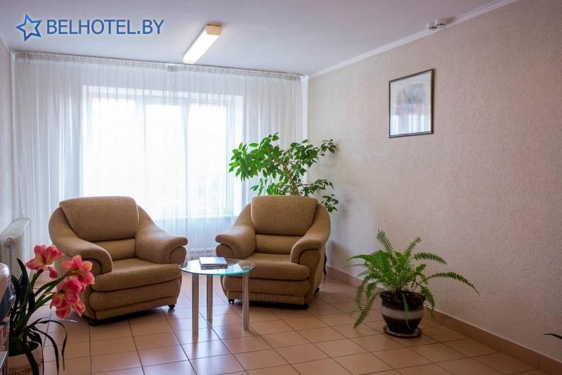 Hotels in Belarus - hotel Sputnik - Reception, hall