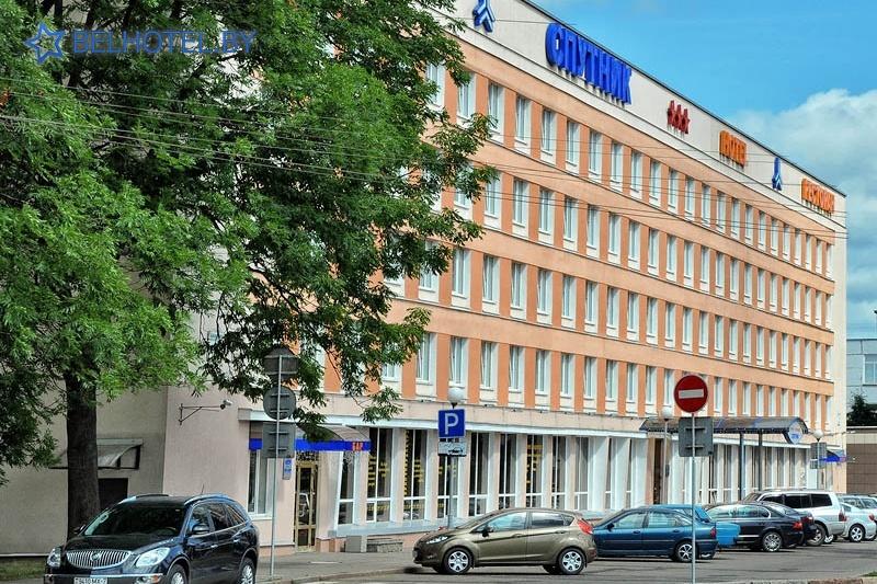 Hotels in Belarus - hotel Sputnik - Car park