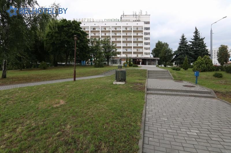 Гасцініцы Беларусі - гасцініца Беларусь - Знешні выгляд
