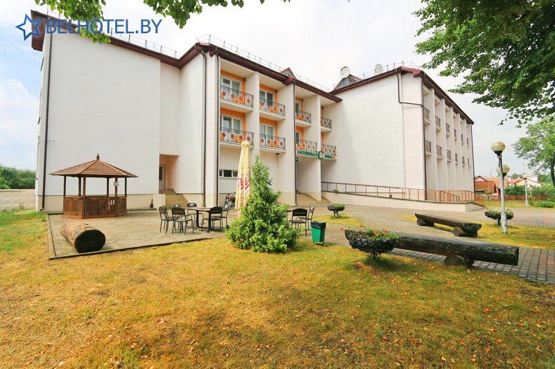 Гостиницы Белоруссии Беларуси - гостиничный комплекс Каменюки, корпус №2 - Внешний вид