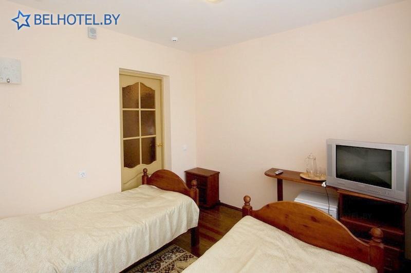 Гостиницы Белоруссии Беларуси - гостиничный комплекс Каменюки, корпус №2 - 2-местный 1-комнатный / Twin (гостиница №2)