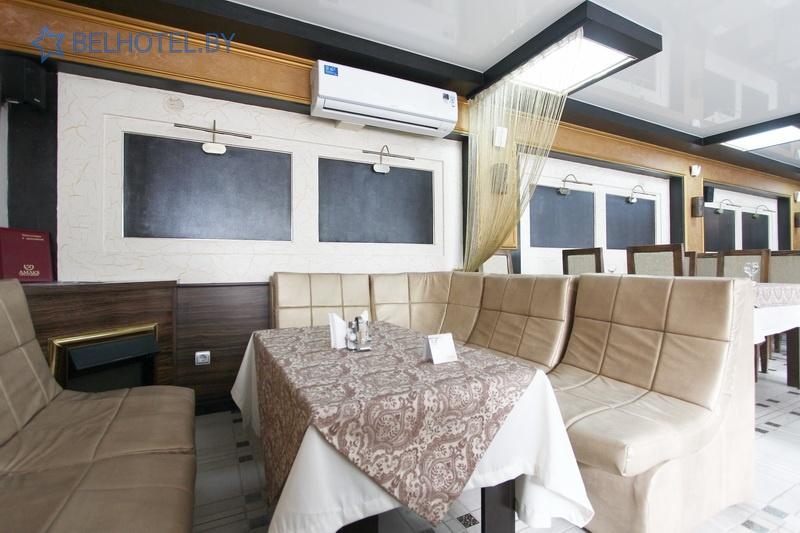 Hotels in Belarus - hotel Amaks Visit - Cafe