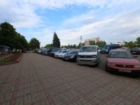 гасцініца Беларусь - Стаянка аўтамабіляў