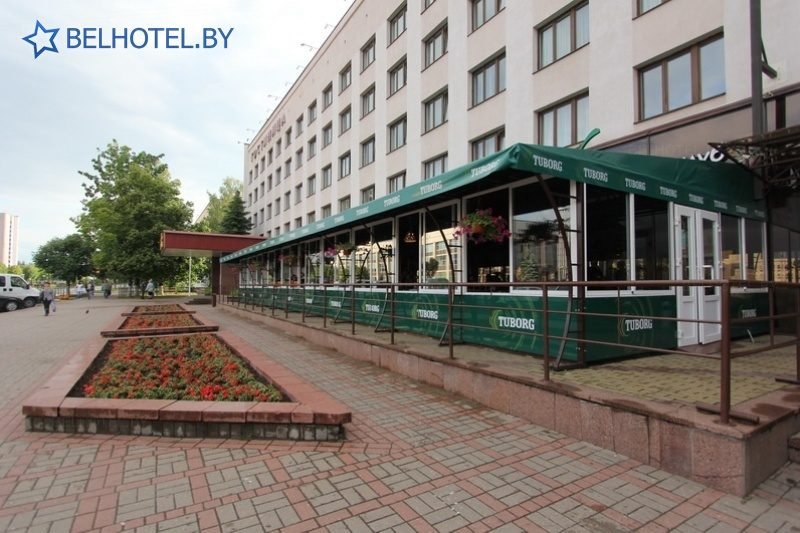 Hotels in Belarus - hotel Belarus Novopolotsk - Summer cafe