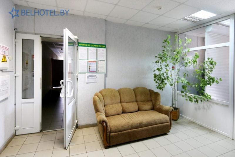 Гостиницы Белоруссии Беларуси - гостиница Сож - Регистратура, холл