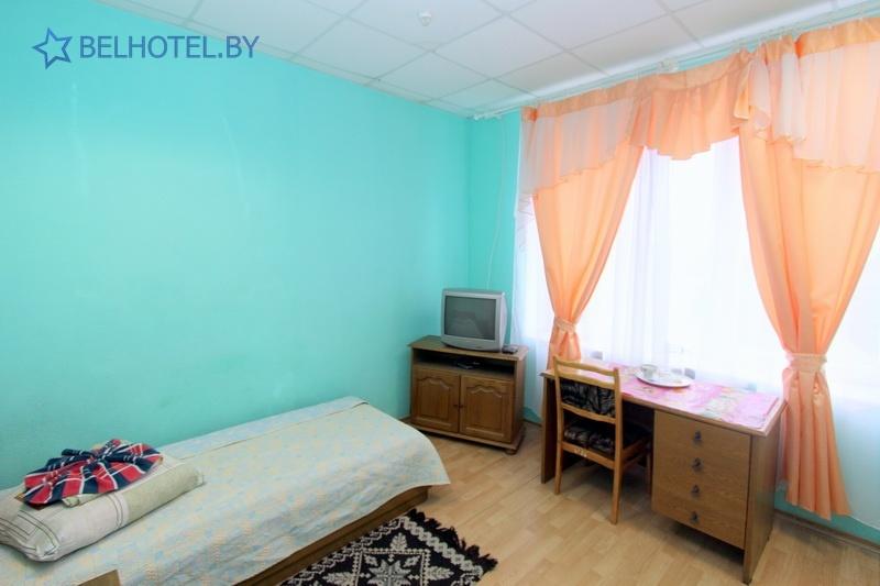 Гостиницы Белоруссии Беларуси - гостиница Сож - 1-местный 1-комнатный (2 разряд)