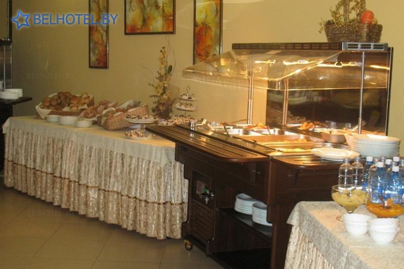 Hotels in Belarus - hotel Turist Mogilev - Restaurant
