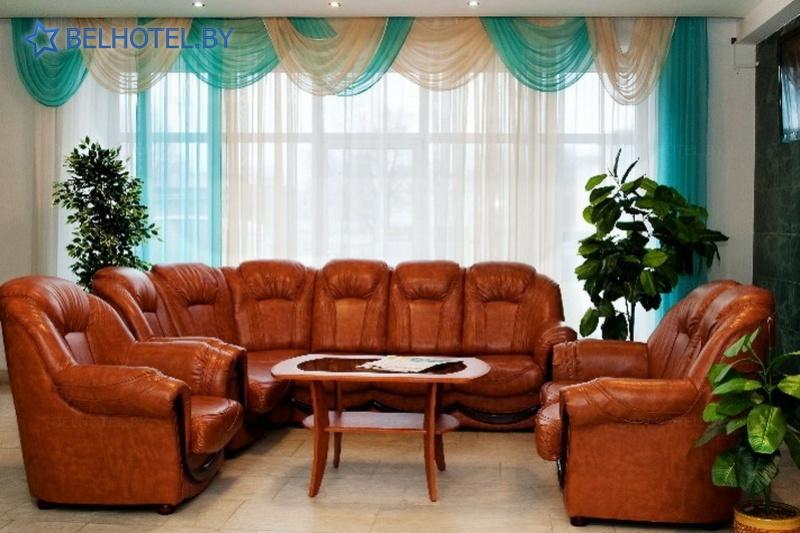 Hotels in Belarus - hotel Turist Mogilev - Reception, hall