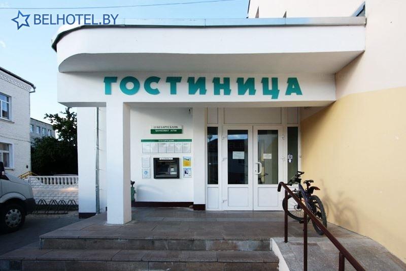 Гасцініцы Беларусі - гасцініца Воранава - Знешні выгляд