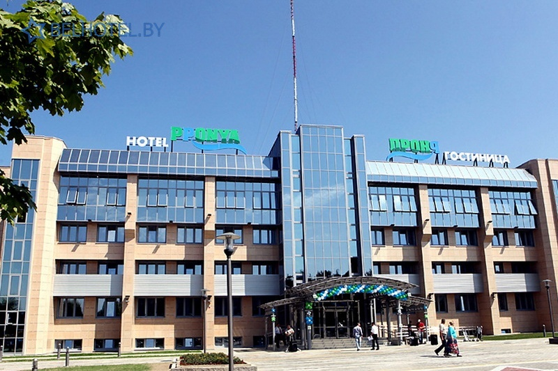 Hotels in Belarus - hotel Pronya - External appearance
