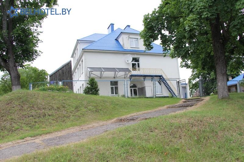 Hotels in Belarus - hotel Dinamo Svir - External appearance