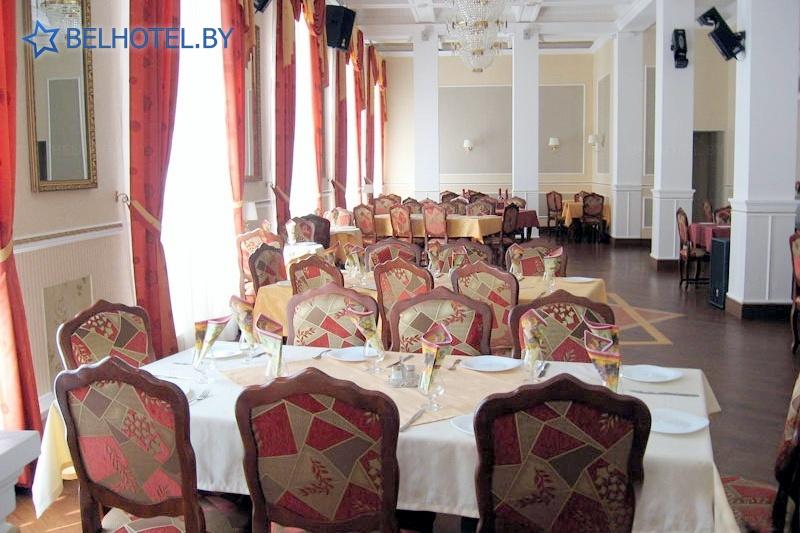 Гостиницы Белоруссии Беларуси - гостиничный комплекс Славянский - Ресторан