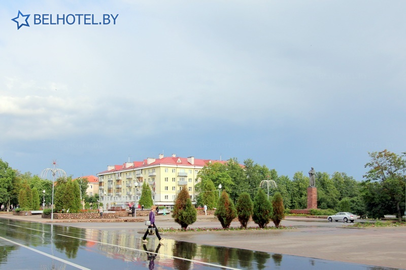 Hotels in Belarus - hotel complex Slavyansky - Scenery of the locality