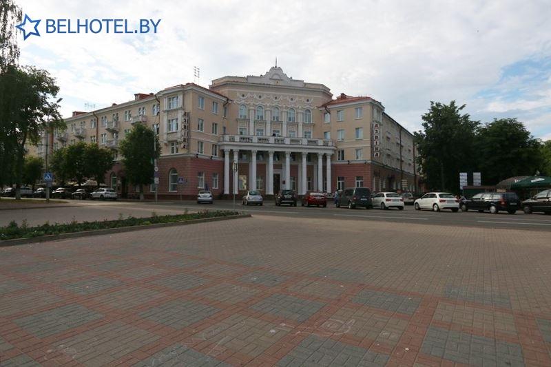Гостиницы Белоруссии Беларуси - гостиничный комплекс Славянский - Внешний вид