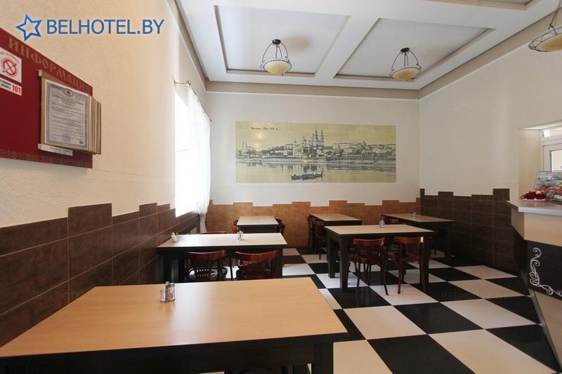 Гостиницы Белоруссии Беларуси - гостиничный комплекс Славянский - Кафе