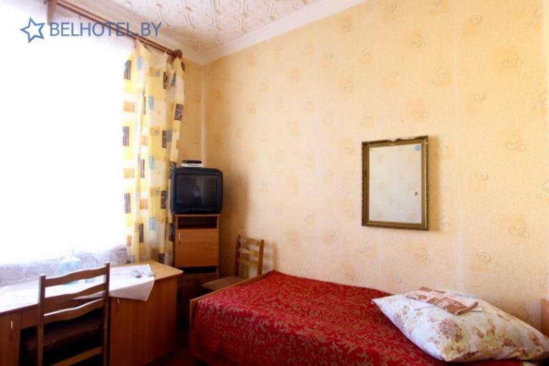 Гостиницы Белоруссии Беларуси - гостиница Миоры - 1-местный 1-комнатный (4 категория)