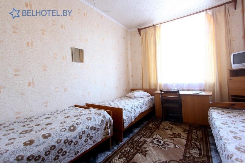 Гостиницы Белоруссии Беларуси - гостиница Миоры - 3-местный 1-комнатный (4 категория)