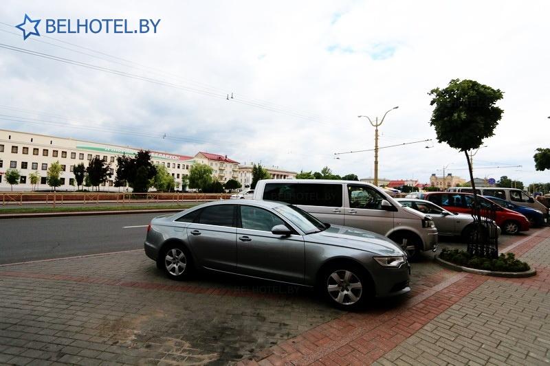 Hotels in Belarus - hotel complex Neman Grodno - Parking