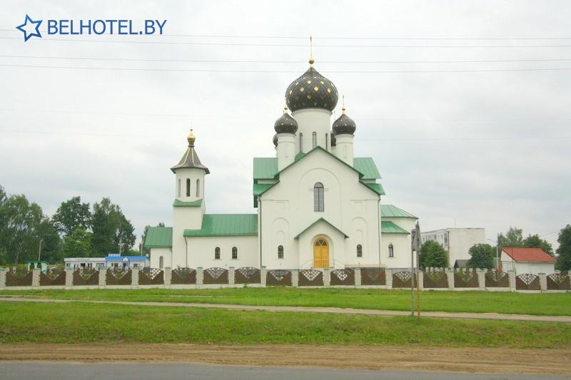 Гостиницы Белоруссии Беларуси - гостиница Березинa - Окрестные пейзажи
