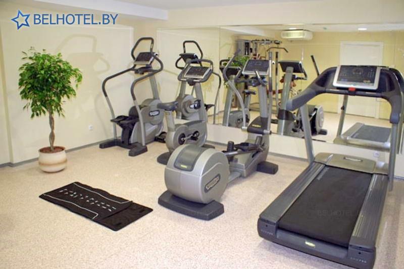 Hotels in Belarus - hotel Evropa - Gym