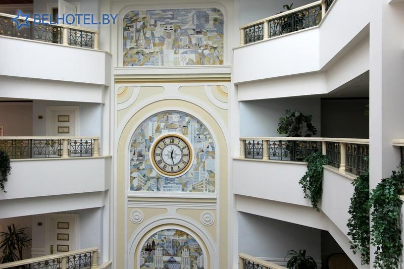 Hotels in Belarus - hotel Evropa - Reception, hall