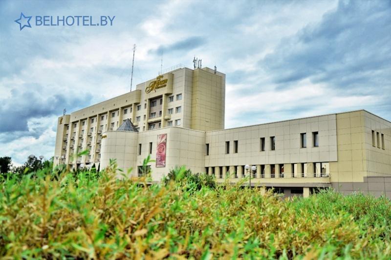 Hotels in Belarus - hotel Turist Bobruisk - External appearance