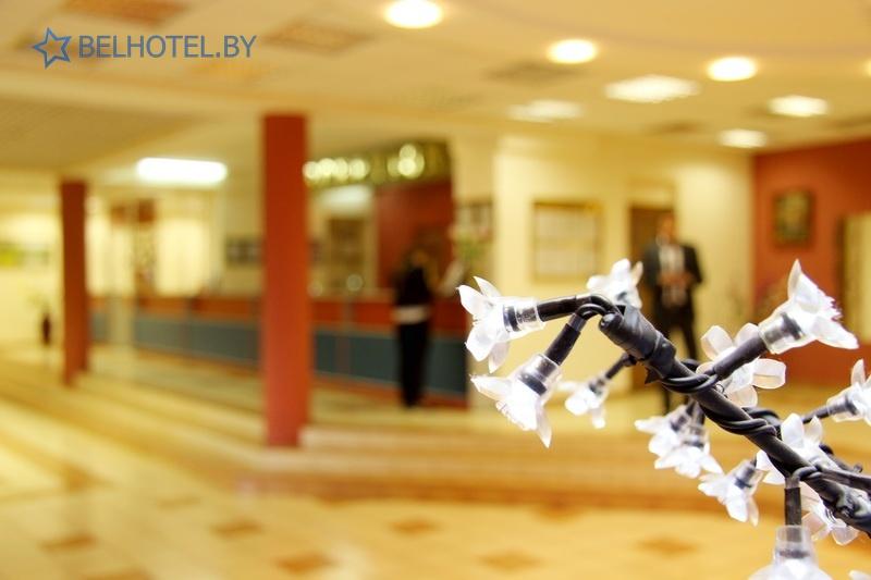 Hotels in Belarus - hotel Turist Bobruisk - Reception, hall