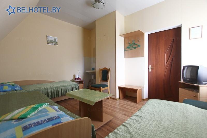 Гостиницы Белоруссии Беларуси - гостиница Ружилона - 3-местный 1-комнатный