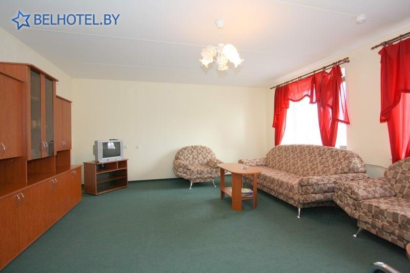 Гостиницы Белоруссии Беларуси - гостиница Дрибин - 1-местный 2-комнатный (высший разряд)