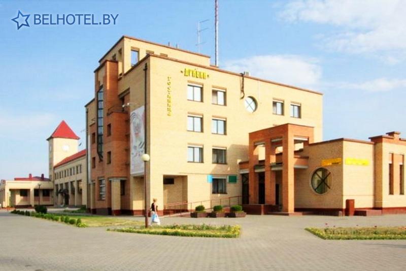 Hotels in Belarus - hotel Dribin - External appearance