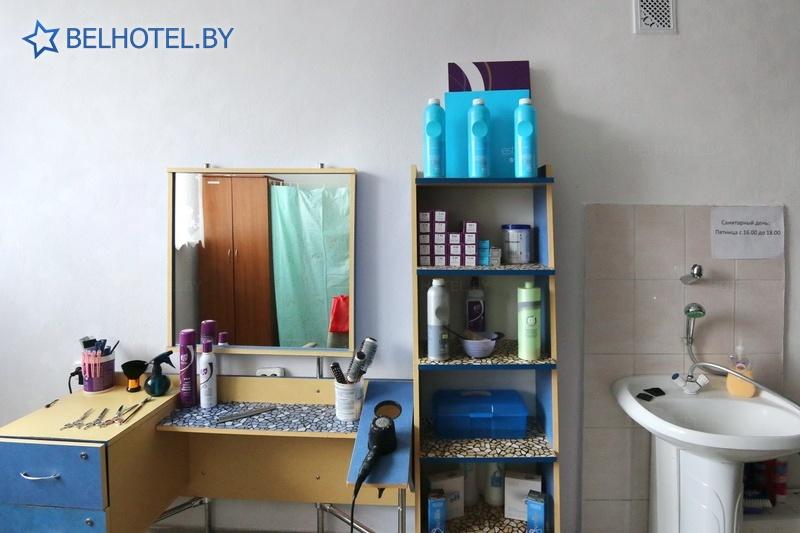 Гостиницы Белоруссии Беларуси - гостиница Дрибин - Парикмахерская