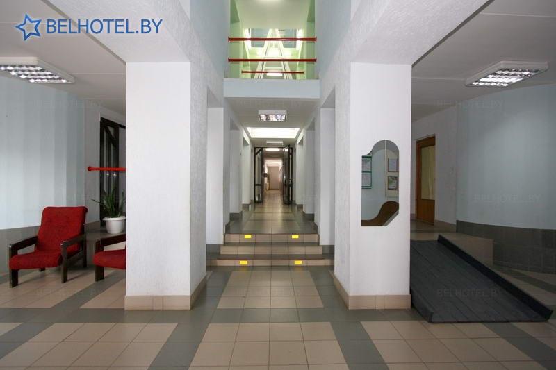 Гостиницы Белоруссии Беларуси - гостиница Дрибин - Регистратура, холл